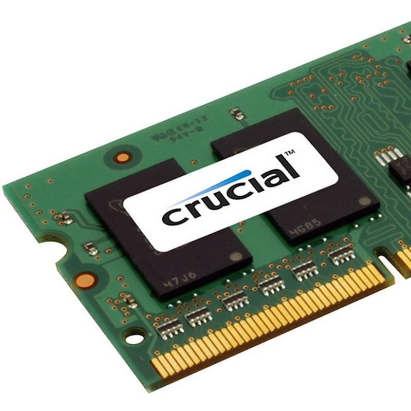 MEMORIA CRUCIAL 4GB DDR3